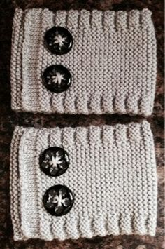 Nifty Knitting: Boot Cuff Pattern (for intermediate knitters)