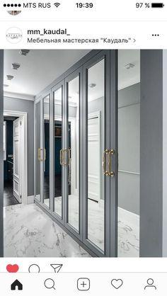 ideas wardrobe closet ikea for 2019 Bedroom Closet Doors, Mirror Closet Doors, Bedroom Cupboards, Wardrobe Design Bedroom, Bedroom Wardrobe, Wardrobe Closet, Built In Wardrobe, Modern Wardrobe, Closet With Mirror
