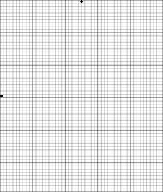Free Cross Stitch Pattern - Happy Birthday Cake: Blank Cross Stitch Graph [50 wide by 60 high]