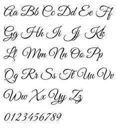 Handlettering Alphabet by Rob Leuschke - Elegant Flowing Script Calligraphy Fonts Alphabet, Hand Lettering Alphabet, Script Lettering, Brush Lettering, Wedding Calligraphy, Penmanship, Calligraphy Letters Alphabet, Script Typeface, Handwriting Fonts Alphabet