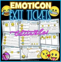 A fun set of printable, differentiated emoji exit slip tickets that enable students to reflect on their learning in a fun and modern way!We are living in an emoji generation where emoticons have actually become a language used worldwide, especially by young people! Growth Mindset Display, Diversity Activities, Mindfulness Colouring, Growth Mindset Activities, Quote Coloring Pages, Lessons For Kids, Math Lessons, Exit Tickets, Pirate Theme