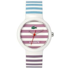Relógio Lacoste Unissex Borracha Branca - 2010564
