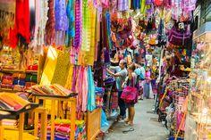Colorful Bangkok market