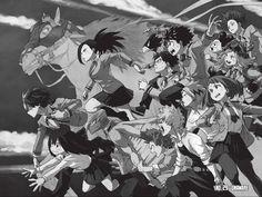 My Hero Academia Manga Art Boku No Hero Academia, My Hero Academia Manga, Manga Art, Anime Manga, Black And White Wallpaper, Next Chapter, Reading Online, Horses, Ladybug