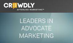 "Crowdly.com, ""afterlike marketing."" [Afterlike?]"