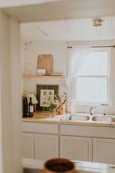 design home decoration Ideias Diy, First Home, Home Decor Inspiration, Decor Ideas, Diy Ideas, Decorating Ideas, Cozy House, My Dream Home, Home Kitchens