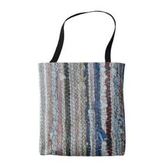 Shop rustic rug texture textile homemade carpet pattern tote bag created by Personalize it with photos & text or purchase as is! Rug Texture, Rustic Gifts, Patterned Carpet, Rustic Rugs, Carpet Runner, Rustic Style, Rugs In Living Room, Bag Accessories, Reusable Tote Bags