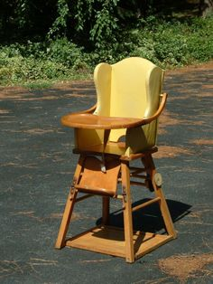 retro high chairs babies beans for bean bag chair 115 best 1950s vintage images children furniture wood convertible