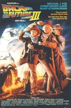 Original BACK TO THE FUTURE 3 III 2/S ROLLED MOVIE POSTER 1990