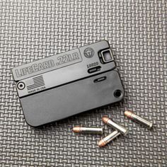 LifeCard will be the last gun you'll leave behind. Hidden Weapons, Self Defense Weapons, Weapons Guns, Guns And Ammo, Cool Gadgets To Buy, Gadgets And Gizmos, Pocket Pistol, Homemade Weapons, 22lr