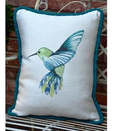 Square By Design™ Pillow with Gathered Piping
