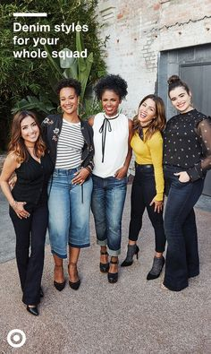 Don't fall victim to denim misconceptions -- girls of all  shapes, sizes, and heights can experiment with denim. Whether you think you're too short or too curvy for flares, or too tall for crops, all you need to do is find the right pair to realize your jean options are far more plentiful than you imagined.