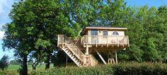 Slapen in een boomhut | Boomhut Het Kleine Paradijs