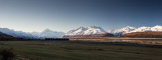 View on the drive to the highest New Zealand Peak - Mount Cook [OC] [3840x1440] http://ift.tt/28QWJBE