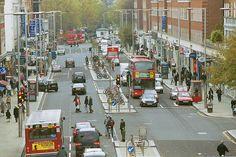Kensington High Street, London. An elegant and functional city street. Photo: ©RBK&C