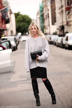 My new knee boots, and how to combine them:Creators of Desire waysify