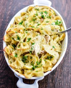 The flavors are so light, you'll forget you're eating pasta. Get the recipe from Cooking and Beer.   - Delish.com