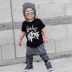 2 PCS Enfant Enfants Bé Manches Courtes T-shirt Harem Pantalon Casual Bé Hip Hop Tenues Vêtements Costume Ensemble 1 T ~ 6 T Boys Harem Pants, Toddler Pants, Toddler Boy Outfits, Baby Boy Outfits, Kids Outfits, Man Pants, Boys Joggers, Infant Toddler, Toddler Boys