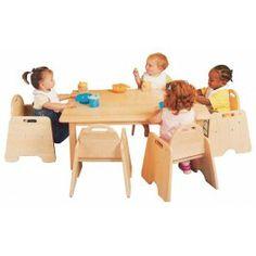 Dikdörtgen Masa (Anaokulu ve kreşler için)