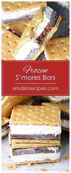 Easy No Bake Desserts, Frozen Desserts, Frozen Treats, Delicious Desserts, Dessert Dishes, Dessert Recipes, Brownies, Cheesecake Desserts, Pumpkin Cheesecake