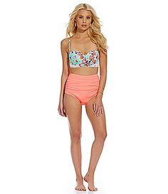 8040170399 Cremieux FloralPrint Midkini and Bottom #Dillards Cute Swimsuits, Summer  Wear, Summer Outfits,