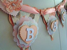 BABY Shower Banner Butterfly Baby Shower by BeantownBabyCrafts, $36.00
