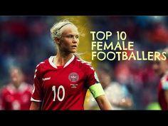 Top 10 Female Footballers | 2018 - YouTube Celebration Cinema, Celebration Around The World, Soccer Dribbling Drills, Football Celebrations, Female Soccer Players, Soccer Workouts, Soccer Skills, Alex Morgan, Messi