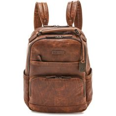 Frye Logan Backpack - Cognac