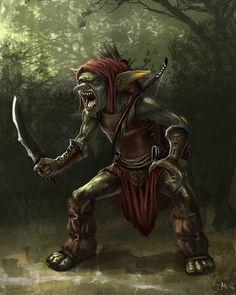 Goblin by aaronflorento.deviantart.com on @DeviantArt