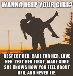 love quote: wanna keep your girl?, find more Love Quotes on LoveIMGs. LoveIMGs is a free Images Pinboard for people to share love images. Famous Love Quotes, Love Quotes With Images, Love Quotes For Him, Quotes Images, Complicated Love Quotes, Communication Quotes, Communication Relationship, Love Message For Him, One Sided Love