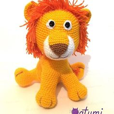 ¡R-R-R-ROAR! 😍🦁  amigurumi leon lion #crochet #handmadechile #hechoenchile