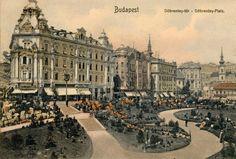 Budapest legszebb tere volt a 40 évet élt Döbrentei. Díszes bérpalotáit urbanisztikai fejlesztések miatt lebontották, ám helyükön nem egy modern fürdőváros, hanem az Erzsébet híd vasbeton felüljárói kacskaringóznak. A japánkerttel díszített Döbrentei tér nyugati oldala… Neoclassical Architecture, Vintage Architecture, Budapest Hungary, Old Buildings, Old Photos, Big Ben, Tao, Paris Skyline, The Past