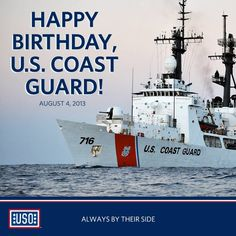 Happy birthday US Coast Guard!!