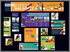 Energy Balance Bulletin Board Kit, School decorations  $24.95  #Sports #Activity #Schools #Coach #Teacher #Physical #Education