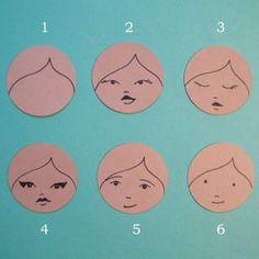 peg doll faces