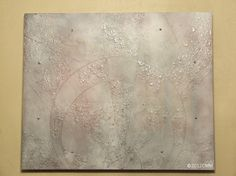 MUTED RADIANCE  Original Painted Textured by CMMorrisArtGallery, $250.00