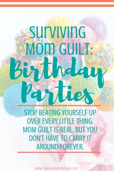 Moms, stop beating yourself up over every little thing. Mom guilt is real, but you don't have to carry it forever.