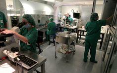 El laboratori de la Clínica eugin és probablement el laboratori més gran i especialitzat d'Europa