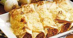 Köttfärsfyllda tortillas med smak av texmex - en succé för både stora och små!
