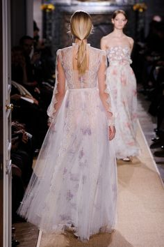 Valentino at Couture Spring 2012. Cannot get enough of this dress.