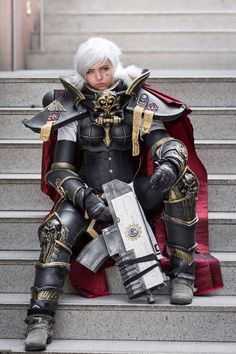 Pohli Cosplay with some serious attitude in her... - Warhammer 40,000: Regicide