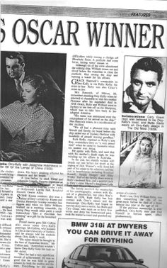 Orry-Kelly's Unpublished Biography still with family, in
