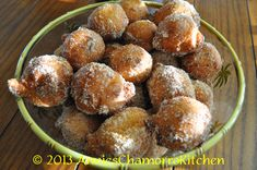 Yeast donuts are another favorite treat in my house.  Why wouldn't it be?  Who doesn't loved fried dough that's rolled in sugar?  Uhh…NO one!  :)