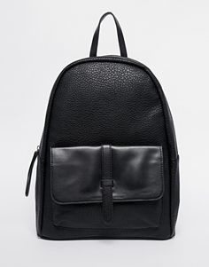 Image 1 ofPieces Backpack with Front Pocket and Strap Detail