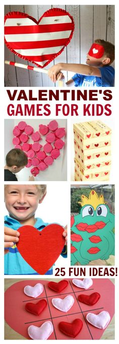 Throwing a Valentine's Day party? Here is a great rounudp of Valentine's Game of kids!