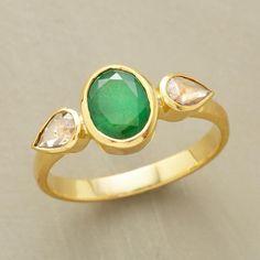 teardrop emerald ring sundance - Google Search