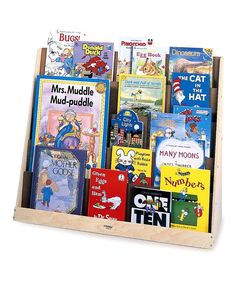 Another great find on #zulily! Book Display Stand by Whitney Brothers #zulilyfinds