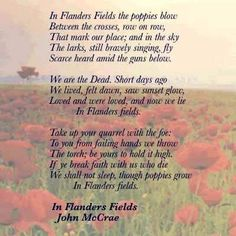 Short Memorial Day Poems 1