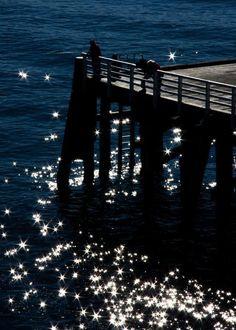 Tathra Wharf, NSW, Australia - glistening water