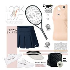 """Look Of Love"" by mrs-rc ❤ liked on Polyvore featuring NIKE, Vince, Marco Bicego and Chanel"